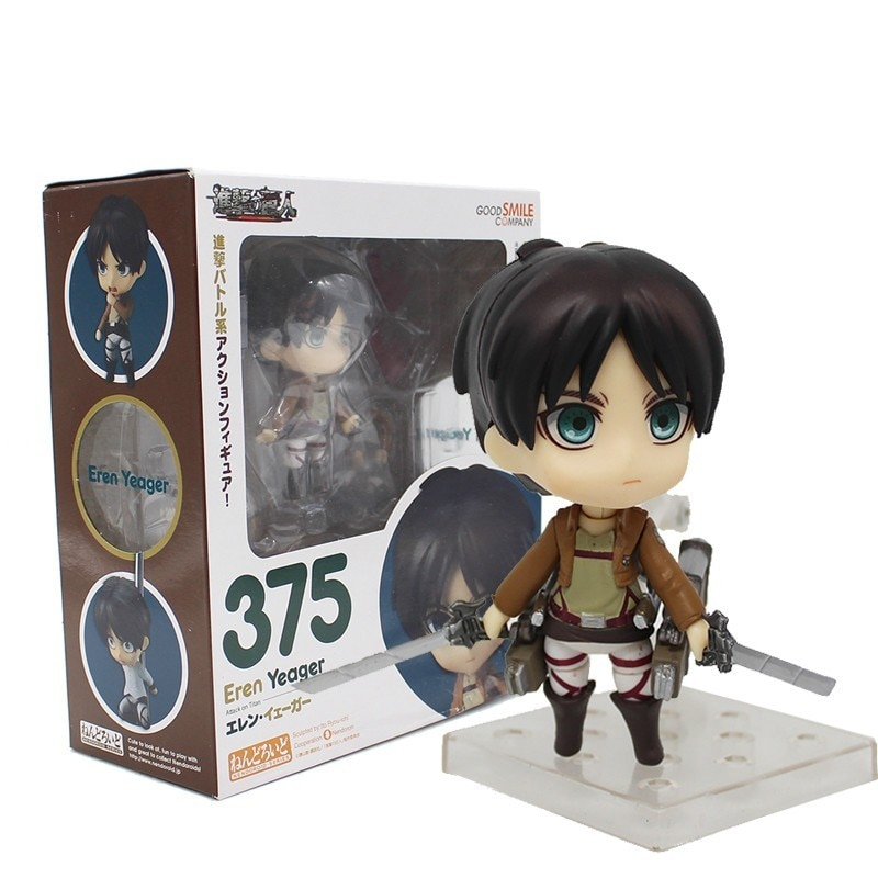 Anime Attack On Titan Eren Yeager Gsc375 Clay Doll 471 Levi Cleaning Ver Allen Heichov Rivaille - Attack On Titan Shop
