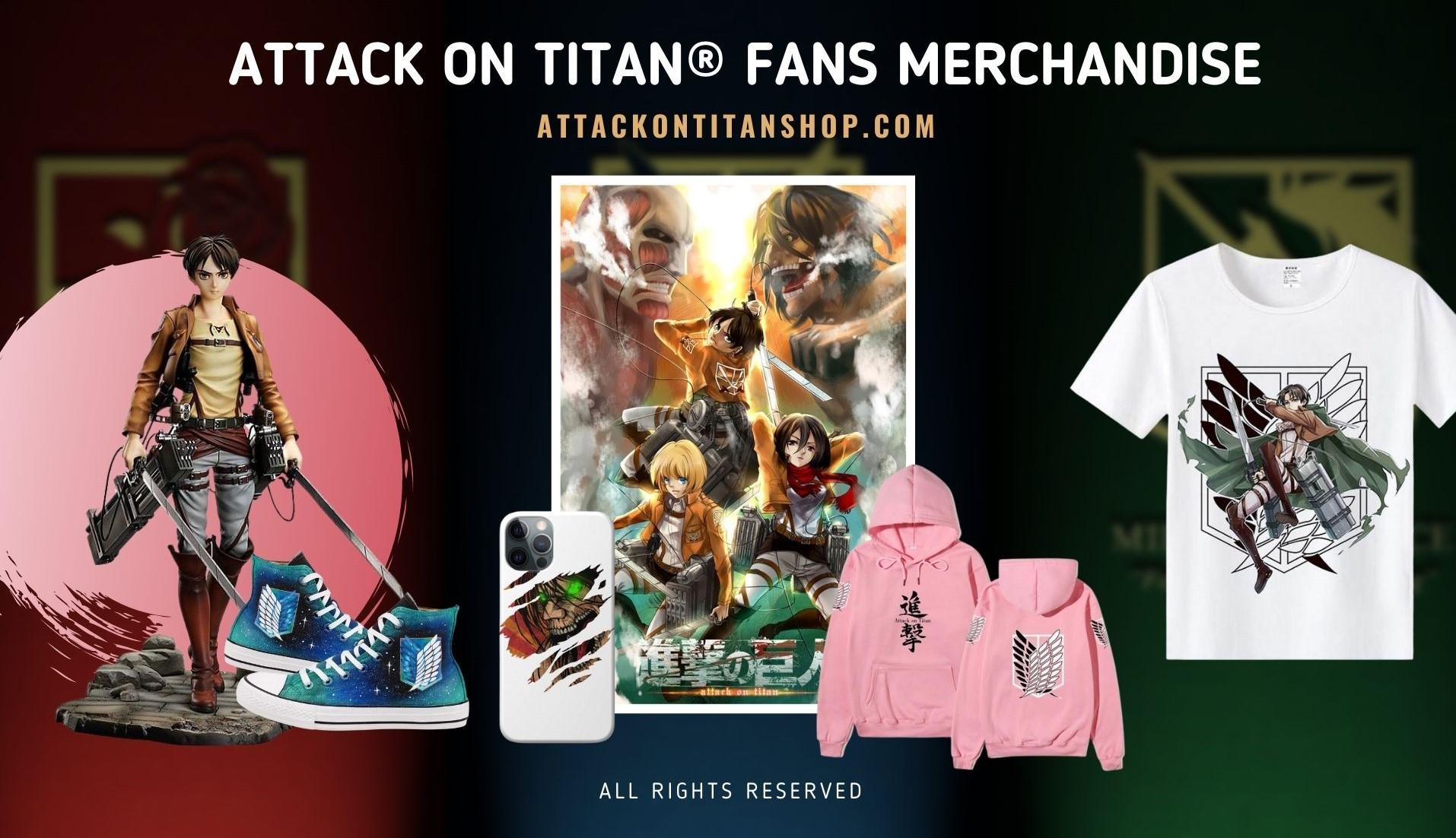 Attack On titan Merch Web Banner 2 - Attack On Titan Shop
