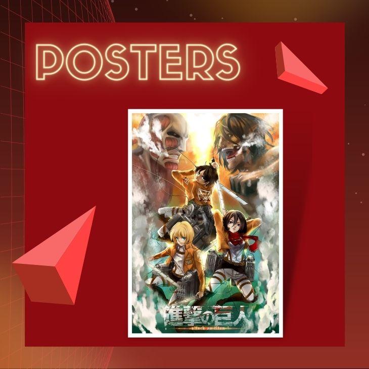 Attack On titan Posters - Attack On Titan Shop