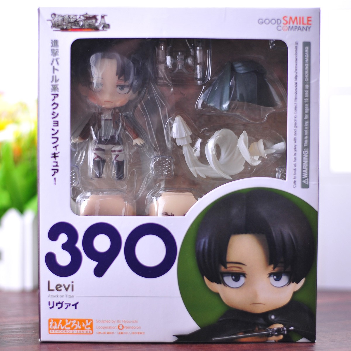 Gsc390 Levi Clay Doll Attack On Titan Action Model Toys For Children Eren Yeager Levi Ackerman - Attack On Titan Shop