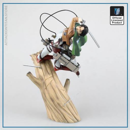 attack on titan figure levi ackerman figure - Attack On Titan Shop