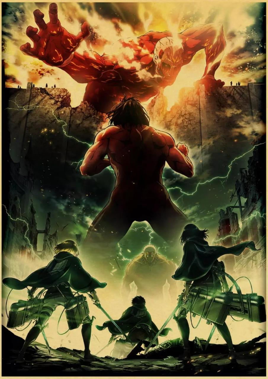 attack on titan poster 11 - Attack On Titan Shop