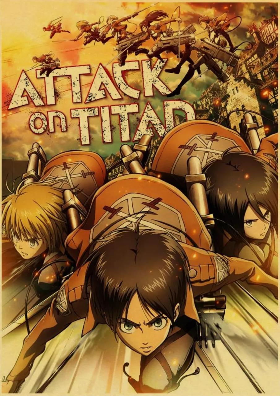 attack on titan poster 19 - Attack On Titan Shop